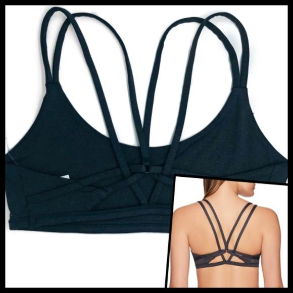 e65c0c845a Danskin Women s Gym Yoga Bralette Gray L